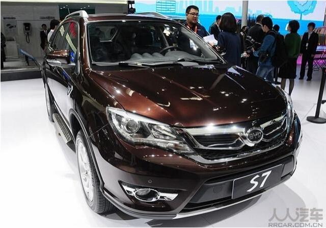 比亚迪S7全新SUV车型 完美高配图片